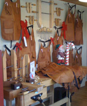 The Leather Shop Apron For Real Men Woodworking Blog