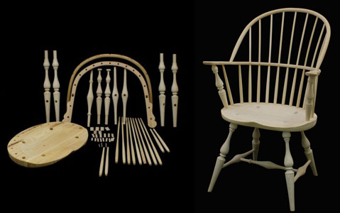 The Chairman Windsor Chair By Hand Woodworking Blog