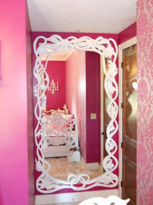 Carved Mirror Frame
