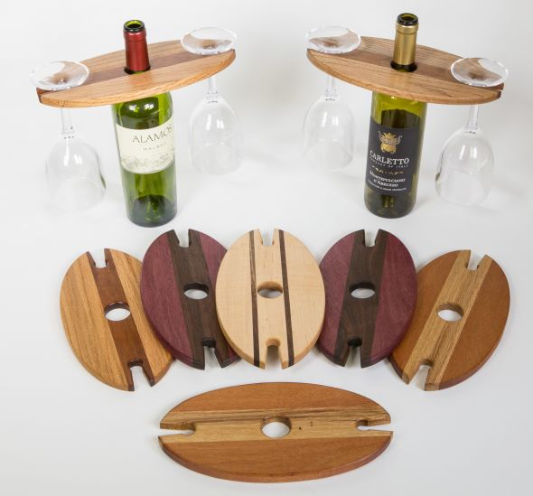 Wooden wine bottle and glass rack plans pdf plans for Wine plans