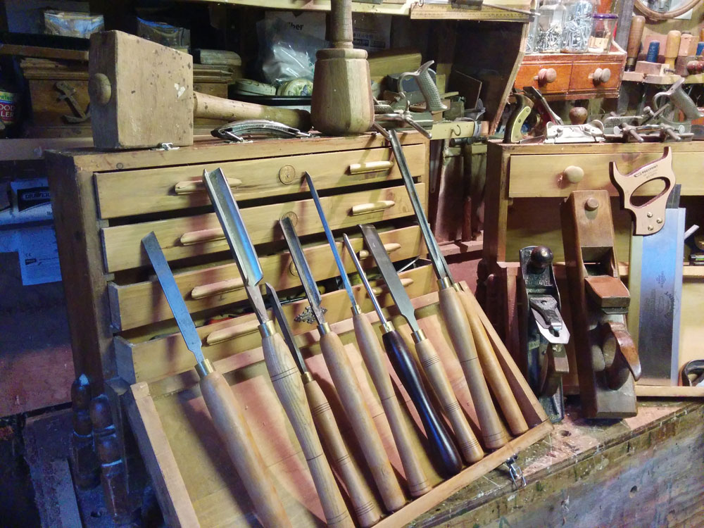 Passing Down Your Woodworking Tools